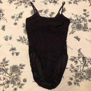 Vintage Olga stretch bodysuit in good used cond
